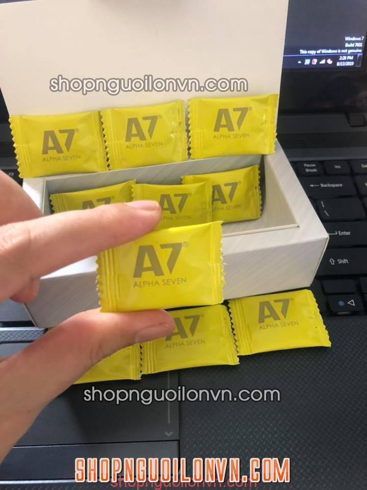 Tại sao nên sử dụng kẹo ngậm A7