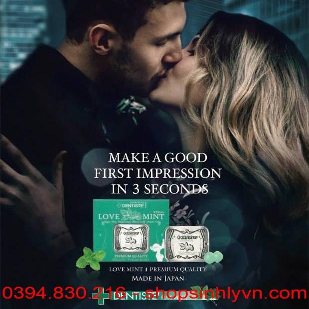 Tác dụng kẹo tình yêu Love Mint
