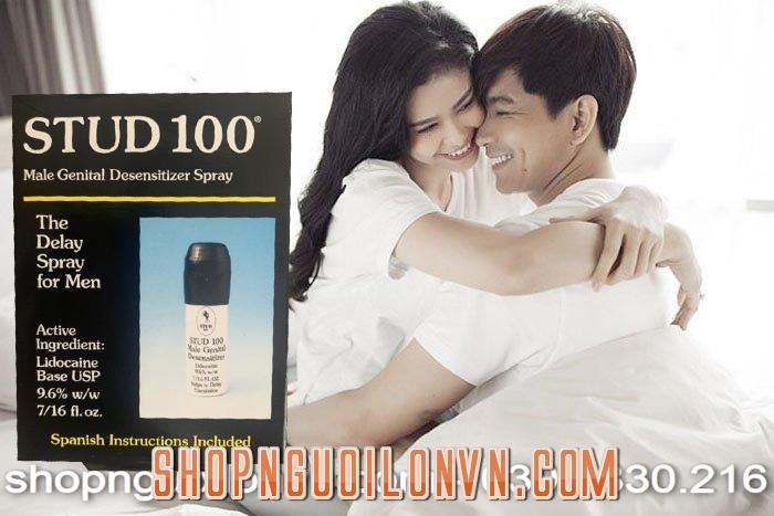 Vì sao nên mua chai xịt stud 100 tại shopnguoilonvn