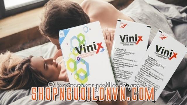 Vinix có thành phần gì?