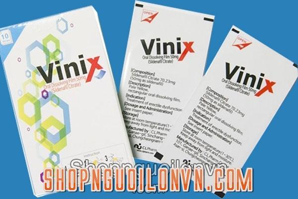 Mua tem Vinix 100mg tại Bắc Ninh, Hà Nam, Hải Dương