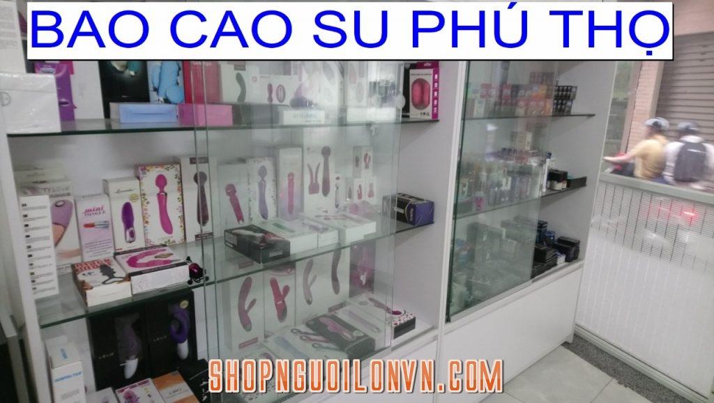 Tư vấn mở Shop bao cao su Phú Thọ